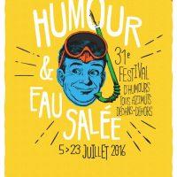 Affiche Humour et eau salée