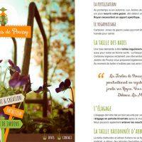 Page web paysagiste Royan