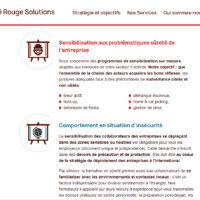 Site web Carré Rouge Solutions