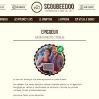 Site e-commerce Scoubeedoo